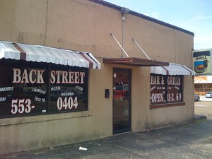 Backstreet Bar and Grill 9